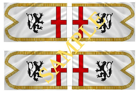 Jacobite Cavalry Flag sheet 49 Lord Dongan's Dragoons