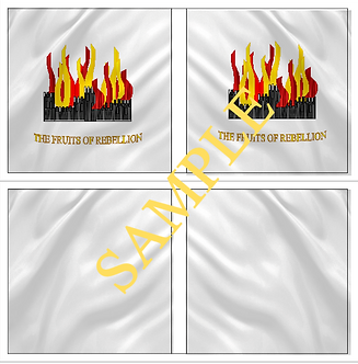 Jacobite Flag sheet 5 Lord Grand Prior's  Regiment