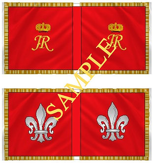 Jacobite Cavalry Flag sheet 32 Sir Patrick Sarsfield's Horse