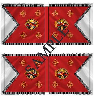 Liberators flags Sheet 1160 Royalist Hussar and Dragoon flags