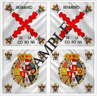 Liberators flags Sheet 1152 Royalist Corona Regiment
