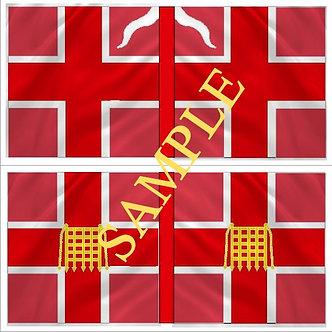 Williamite Flag sheet 58 Hanmer's Regiment