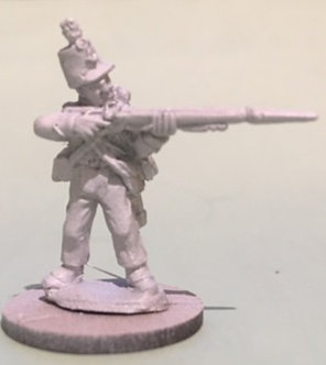 SVR 524 Venezuelan Rifleman, standing firing
