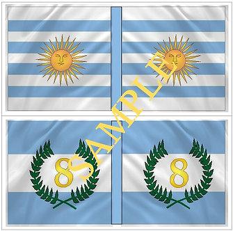 Liberators flags Sheet 1102 RegimentS 7 and 8