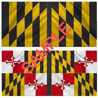 War of 1812 Flag sheet 1205-Maryland