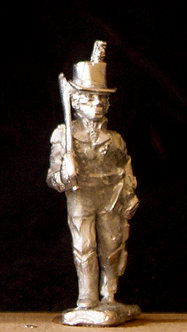 WAB 13Officer advancing, shouldered sword, round hat