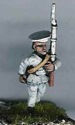 CIF11French Sepoy, marching