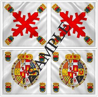 Liberators flags Sheet 1158 Royalist Valdivia Regiment