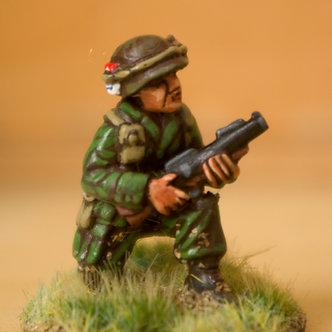 VAI 8 Infantryman, kneeling,  wearing helmet, with M79 grenade launcher