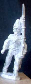 WAA 205	Sergeant marching, 1813 shako