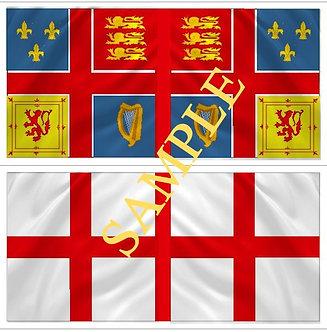 Jacobite Flag sheet 11 The King's regiment of Irish guards