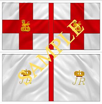 Jacobite Flag sheet 6 Roth's  Regiment