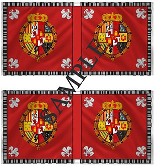 Liberators flags Sheet 1159 Royalist Cavalry flags