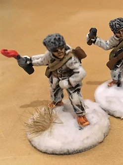WWF19 Infantryman with Molotov cocktail, wearing snowsuit