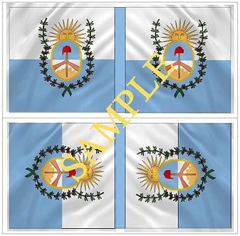 Liberators flags Sheet  1101 Army of the Andes flags