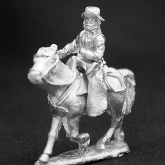 SAC 223  Gaucho, angled lance, wearing hat