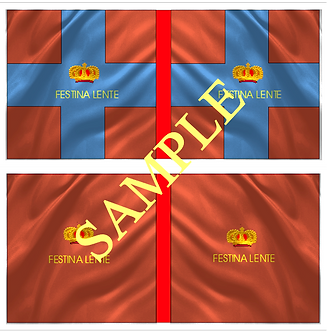Jacobite Flag sheet 4 Lord Louth's Regiment