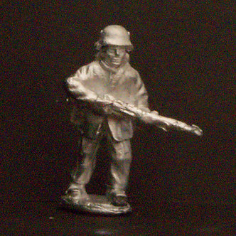 WWF 12  Infantryman advancing with rifle, wearing snowsuit and helmet