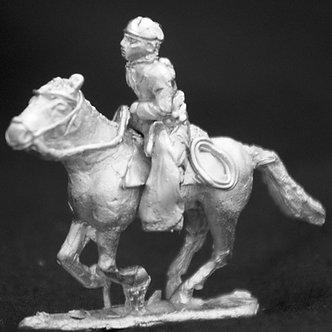 SAC 221 Gaucho, couched lance, wearing stocking cap