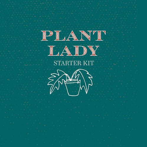 Plant Lady Starter Kit-- Succulent