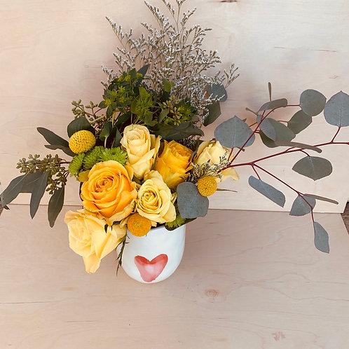 With Love arrangement