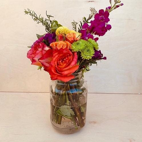 Mansion Jar of Flowers