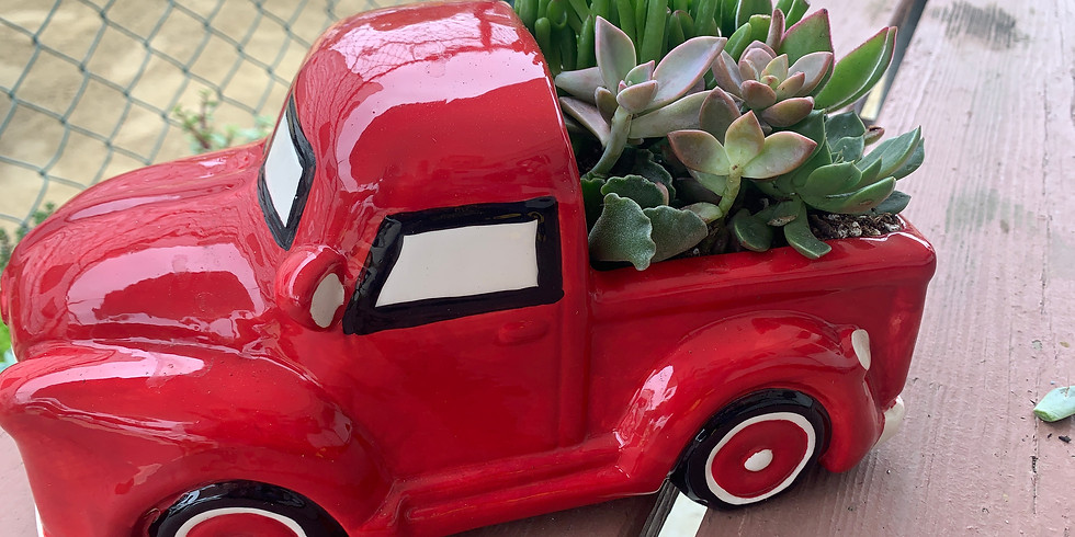 Red Truck Succulents