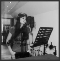 Taryn - Recording at Perry Road