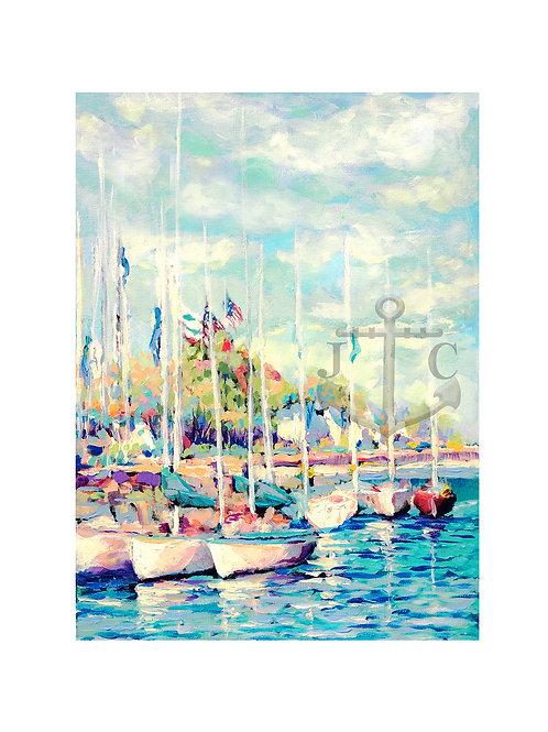 Mackinac Island Sail Boats