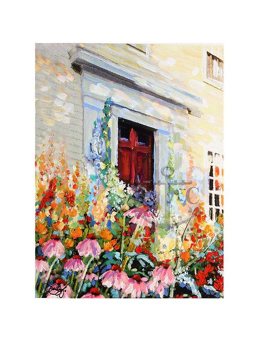 Corn Flower Door