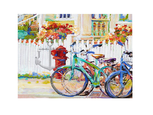 Bikes & Fire Hydrant