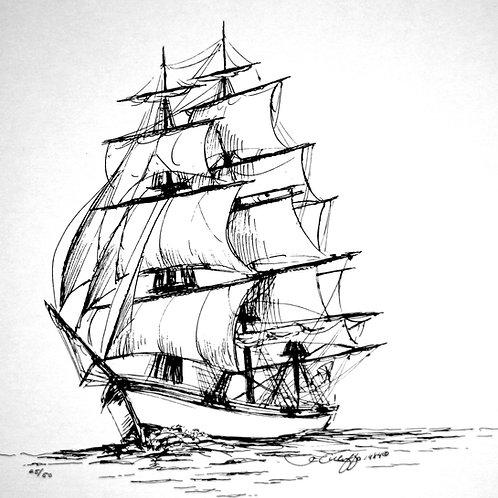 Sailboat Sketch