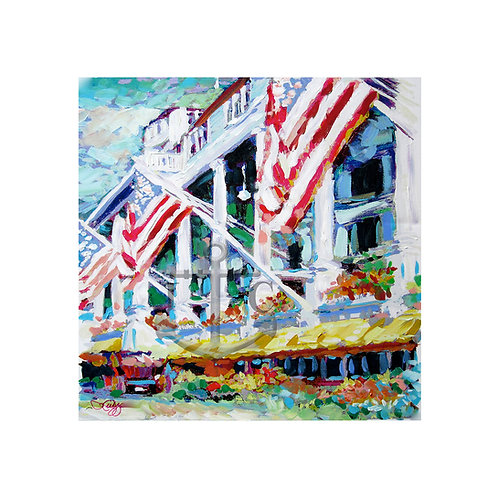 Grand Hotel Flags (Square)