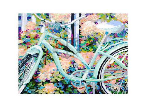 Big Teal Bike