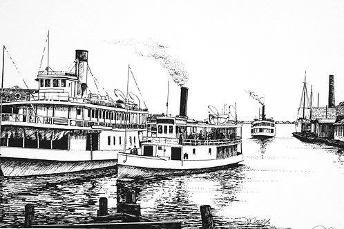 Three Steamboats