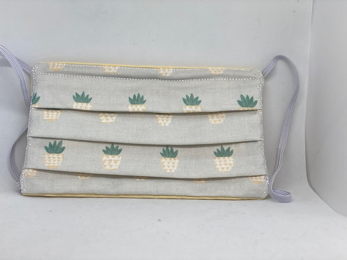 Pineapple Face Mask