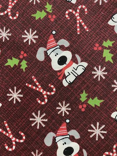 Holiday Pups Face Mask