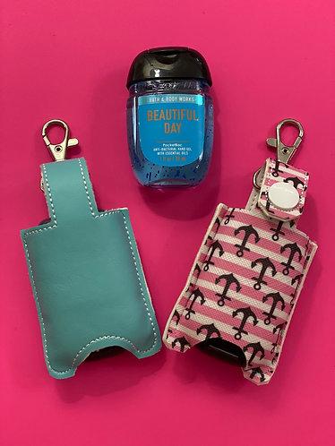 Hand Sanitizer Keychain