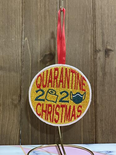 Quarantine Christmas Ornament