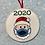 Thumbnail: Santa Face Mask Ornament