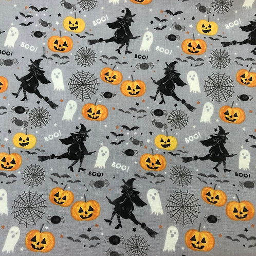 Witches & Ghosts Face Mask