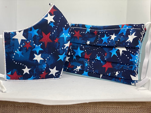 Star Spangled Face Mask
