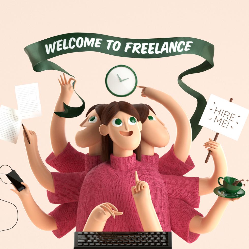 I'm a Freelancer!