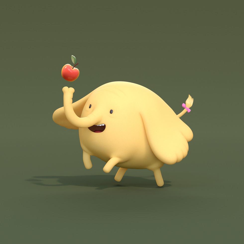 Adventure time Treetrunks fan art.