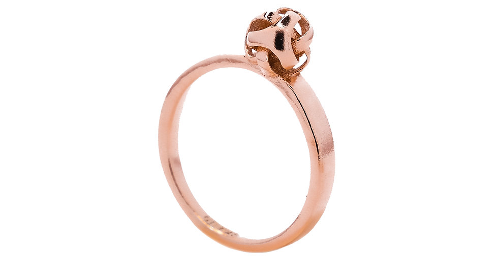 Universum Solo silver ring
