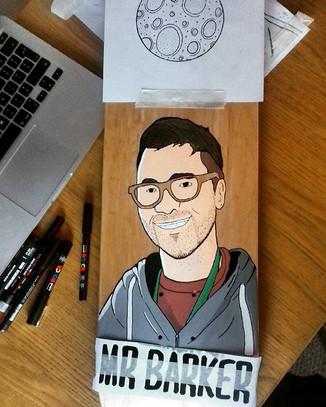 Work in progress of a deck for a school teacher!