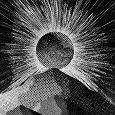 Sun burst peaks