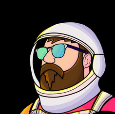 Awesome space dude