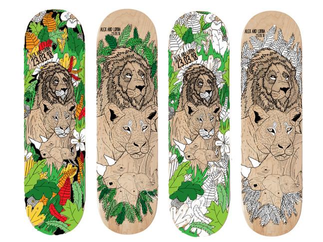 Jungle board ideas