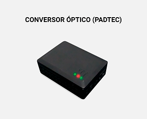 conversor óptico